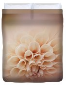 Soft, Subtle Dahlia Duvet Cover