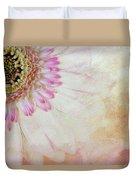 Softly Gerbera Duvet Cover