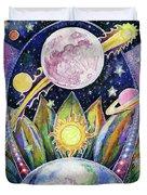 Solstice Moon Duvet Cover
