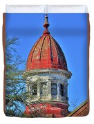 South Carolina State Hospital Dome 3 Duvet Cover by Lisa Wooten