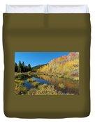 South Elbert Autumn Beauty Duvet Cover by Cascade Colors