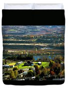 South Wenatchee Fall Duvet Cover