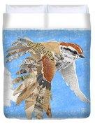 Sparrow Duvet Cover by Clint Hansen