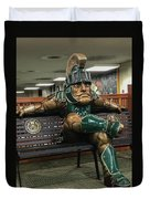 Sparty At Rest Duvet Cover