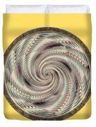 Spinning A Design For Decor And Clothing Duvet Cover