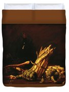Spring Harvest Also Known As Still Life With Asparagus 1887 Duvet Cover