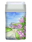 Spring Lilac Duvet Cover