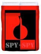 Spy Vs Spy Duvet Cover