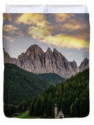St Johann Sunrise Duvet Cover by James Billings