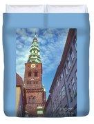 St. Nikolai Church Tower Duvet Cover