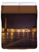 St. Petersburg Palace Square Duvet Cover