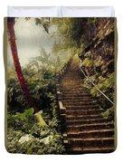 Stairway To Yesterday Duvet Cover