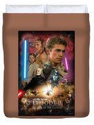 Star Wars Episode II Duvet Cover