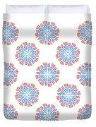 Starburst Pattern Duvet Cover