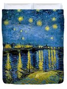 Starry Night - Digital Remastered Edition Duvet Cover