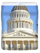 State Of California Capitol Building 7d11736 Duvet Cover