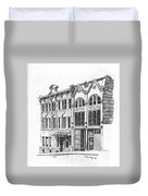 State Publishing And Parchen Building Helena Montana Duvet Cover