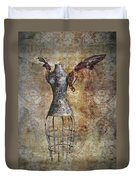 Steampunk Angel  Duvet Cover