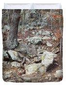 Steep Trails Duvet Cover