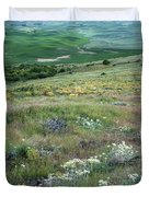 Steptoe Butte View 9276 Duvet Cover
