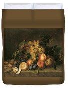 Still Life, 1808 Duvet Cover
