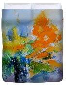 Still Life Watercolor 549110 Duvet Cover
