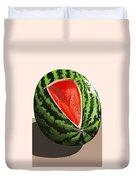 Still Life Watermelon 1 Duvet Cover