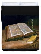 Still Life With Bible - Digital Remastered Edition Duvet Cover