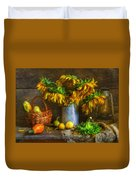 Still Life With Sunflowers Duvet Cover