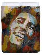 Stir It Up - Retro - Bob Marley Duvet Cover