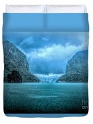 Storm Clouds Invade Ha Long Bay Blue Rain  Duvet Cover