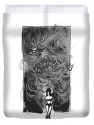 Storm In A Glass Box Duvet Cover
