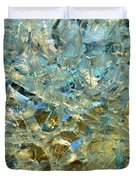 Structures  In Ice Two  Duvet Cover