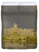 Study Of Windsor Castle Duvet Cover