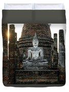 Sukhothai Buddha Duvet Cover