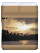 Sun Behind The Clouds Duvet Cover