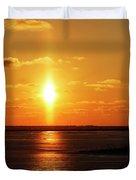 Sun Pillar 01 Duvet Cover by Rob Graham