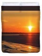 Sun Pillar 02 Duvet Cover by Rob Graham
