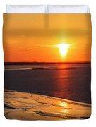 Sun Pillar 03 Duvet Cover by Rob Graham