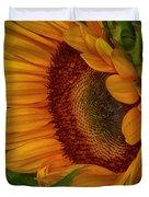 Sunflower Beauty Duvet Cover by Judy Hall-Folde