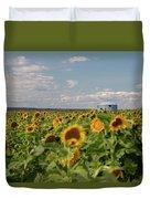 Sunflower Farm Duvet Cover