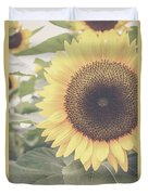 Sunflower Haze Duvet Cover