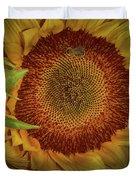 Sunflower Splendor Duvet Cover by Judy Hall-Folde