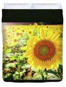 Sunflowers Duvet Cover by Robert Bellomy