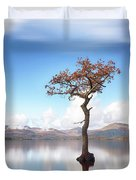 Sunny Afternoon On Loch Lomond Duvet Cover