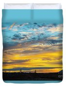 Sunrise At Beaumont Duvet Cover