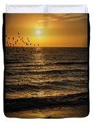 Sunrise Birds Nc Duvet Cover