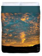 Sunrise In Beaumont,ca Duvet Cover