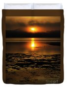 Sunrise Rathtrevor Beach 6 Duvet Cover