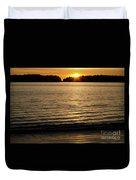 Sunset Beach Vancouver Island 2 Duvet Cover